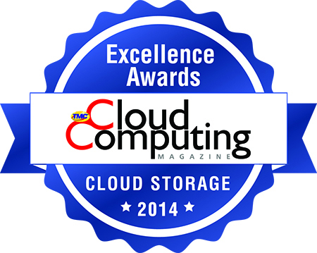 TMC's Cloud Computing 2014 Storage Excellence Award