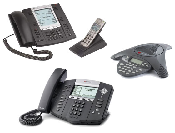 Standard SIP-based Desk and Conference Phone are installed and managed by PanTerra